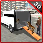 Pet Home Delivery Van icon