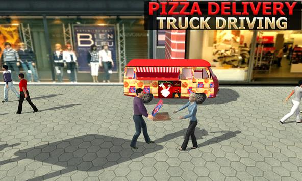 Pizza Delivery Truck Simulator apk screenshot