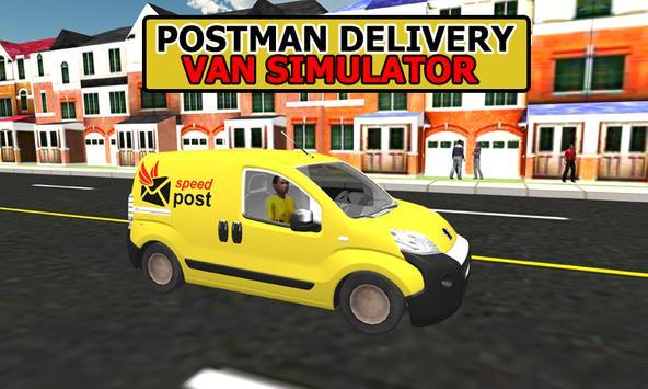 Postman Delivery Van Simulator poster