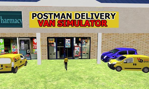 Postman Delivery Van Simulator screenshot 1