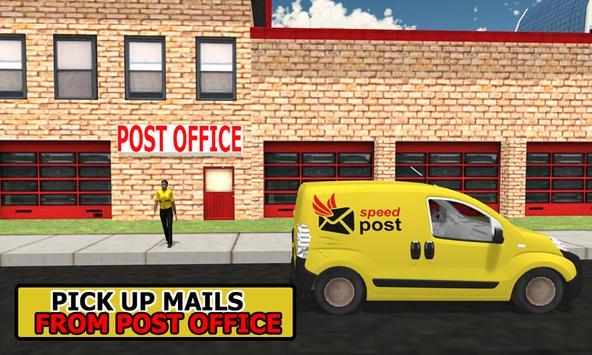 Postman Delivery Van Simulator screenshot 2