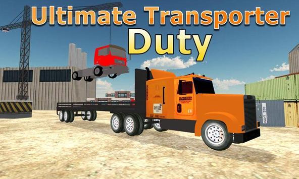Truck Transporter Lorry Sim poster