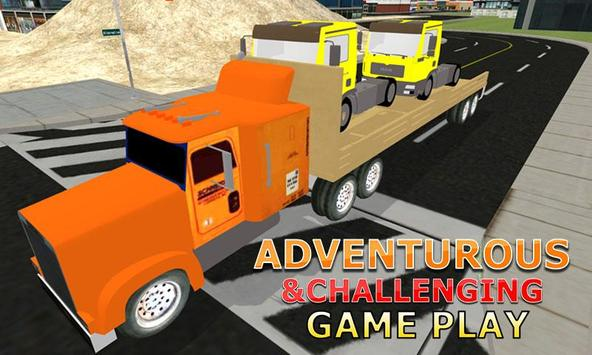 Truck Transporter Lorry Sim apk screenshot