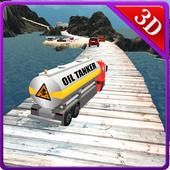 Uphill Oil Tanker Truck Driver icon