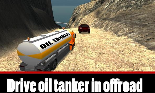 Uphill Oil Tanker Truck Driver apk screenshot