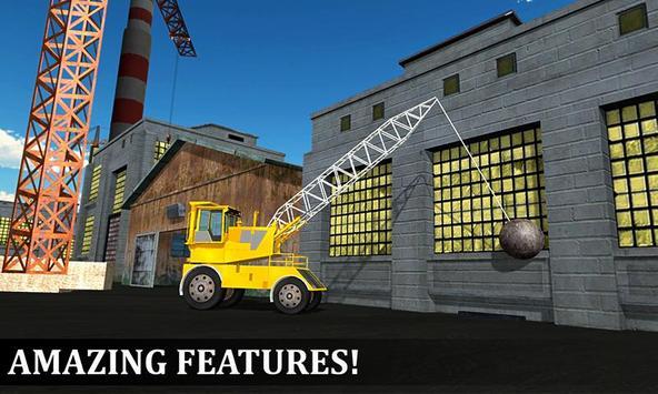 Wrecking Ball Crane Operator poster