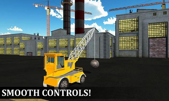 Wrecking Ball Crane Operator apk screenshot