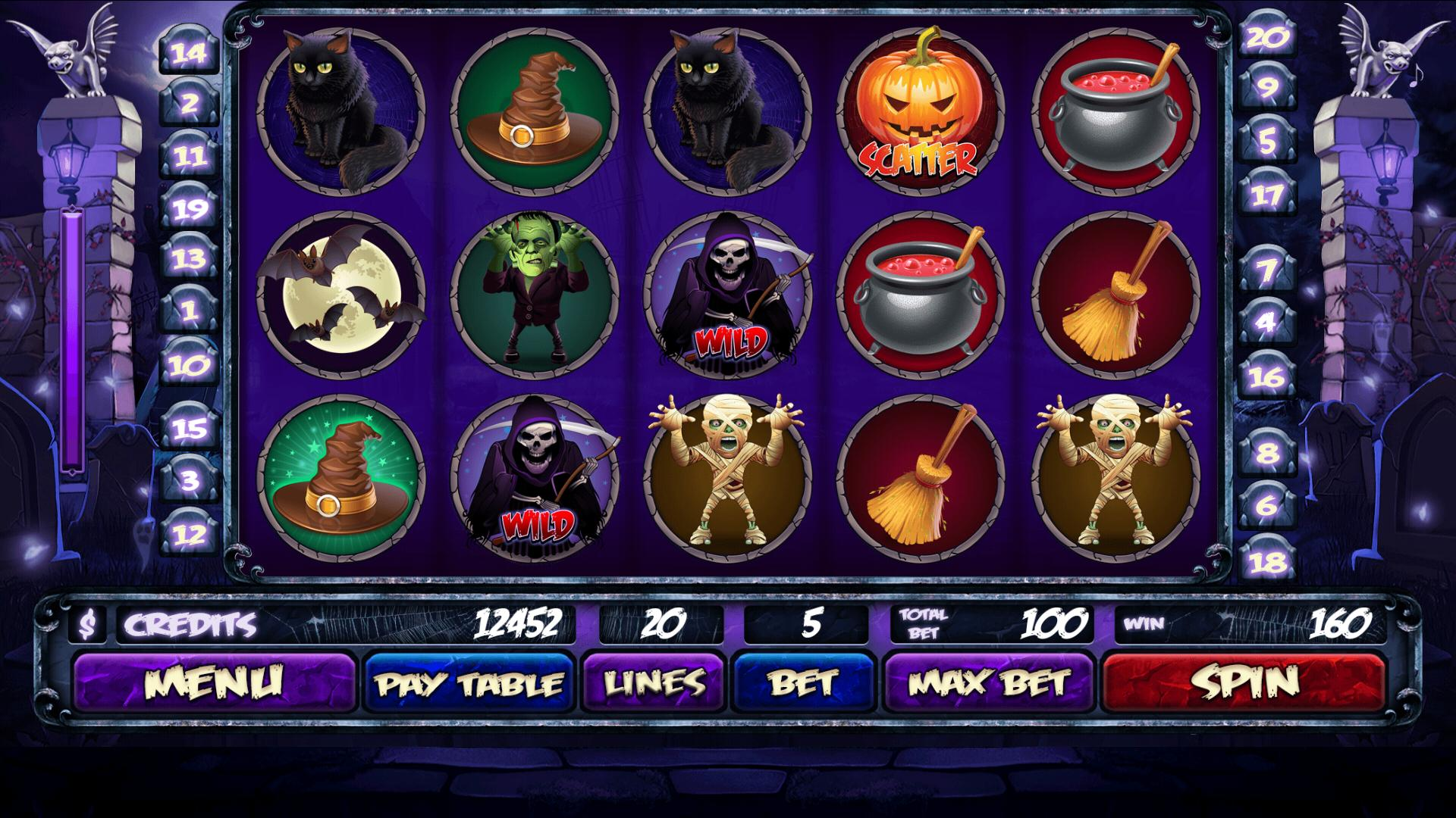 Free Halloween Slots No Download