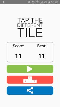 Tap The Different Tile apk screenshot