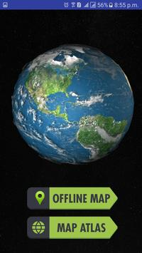 World map 2017 offline free for android apk download world map 2017 offline free captura de pantalla 13 gumiabroncs Images
