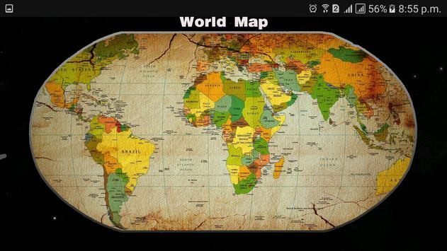 World map 2017 offline free for android apk download world map 2017 offline free screenshot 14 gumiabroncs Choice Image