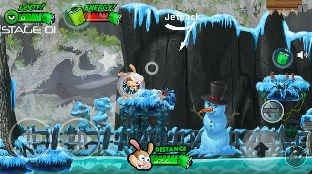 Bunny Forest Run : Winter screenshot 7