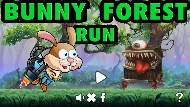 Bunny Forest Run : Winter poster