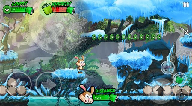 Bunny Forest Run : Winter apk screenshot