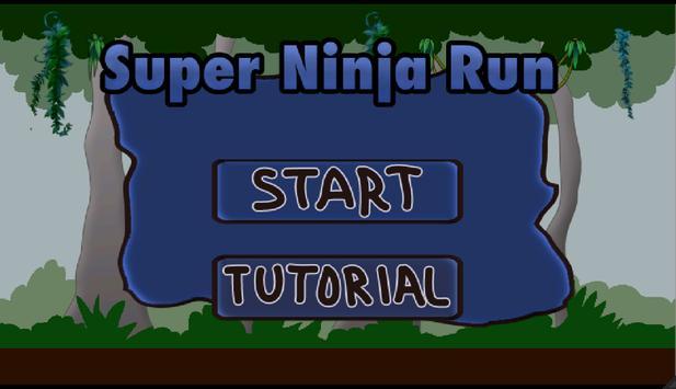 Ninja Forest Run poster