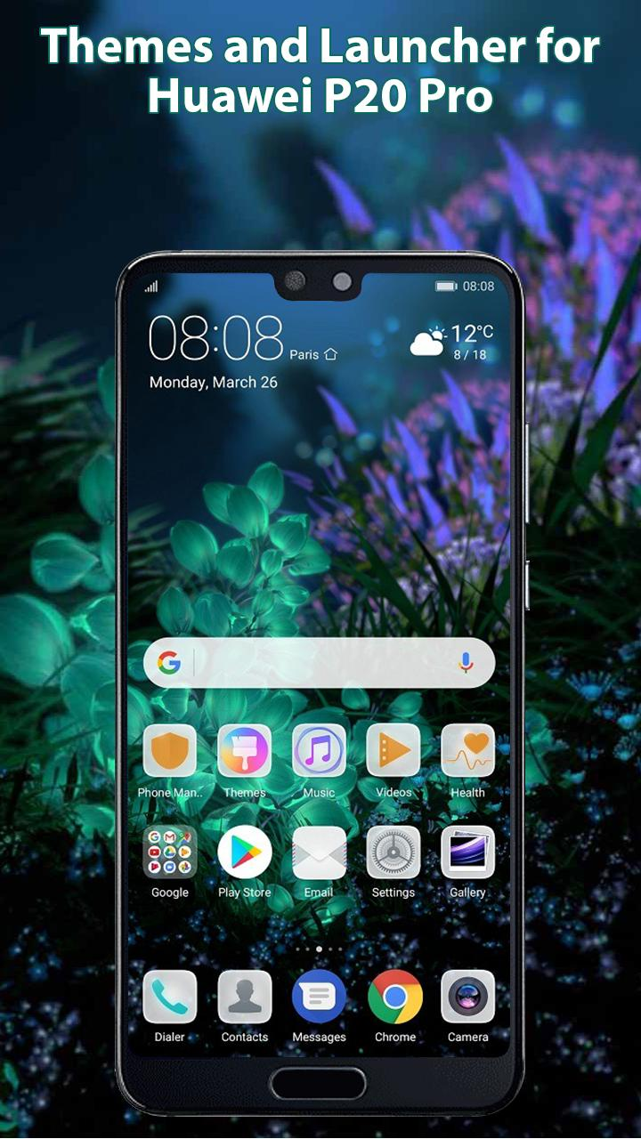 Themes and Launcher for Huawei P20 Pro: Wallpapers for Android - APK