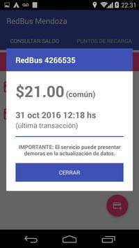 RedBus Mendoza screenshot 1
