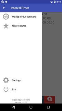 Chronomètres fractionnés apk screenshot