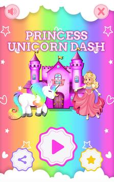Princess Unicorn Dash poster
