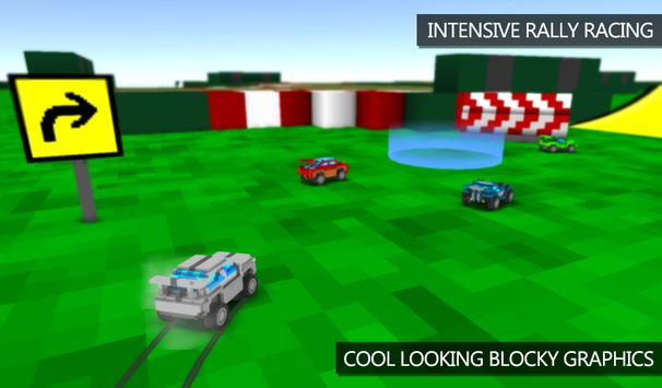 Blocky Rally Racing screenshot 1