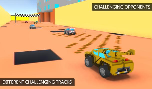 Blocky Rally Racing screenshot 2
