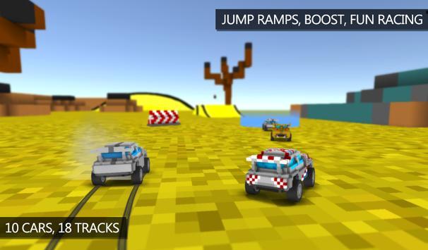Blocky Rally Racing screenshot 3