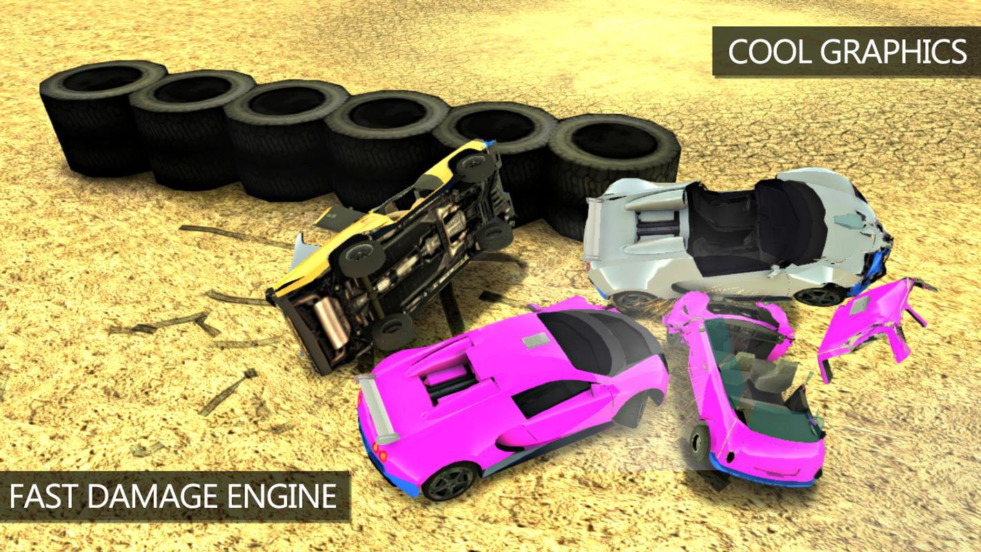 Car Crash Simulator: Extreme Derby APK Download - Free Racing GAME ...
