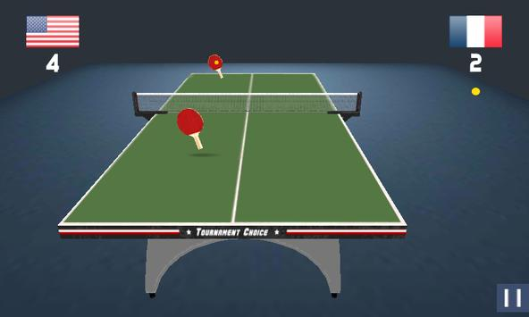Awesome 3D Table Tennis apk screenshot