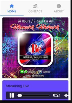 Radio BeFM v1 screenshot 1