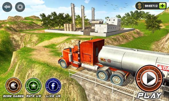 Oil Tanker Transport Game 2018 poster