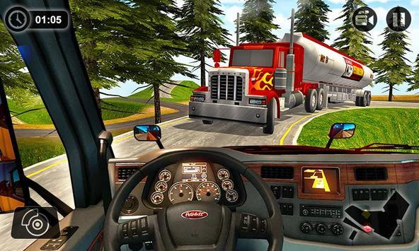 Oil Tanker Transport Game 2018 screenshot 1
