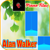 DJ Alan Walker Piano Tiles icon