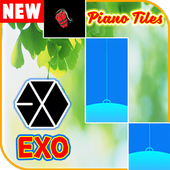 Top! EXO Piano Tiles 5 icon
