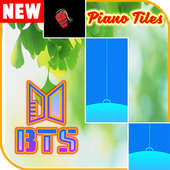 BTS Piano Tiles Game icon