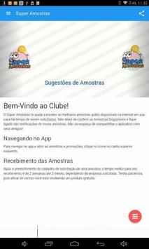 Super Amostras screenshot 4