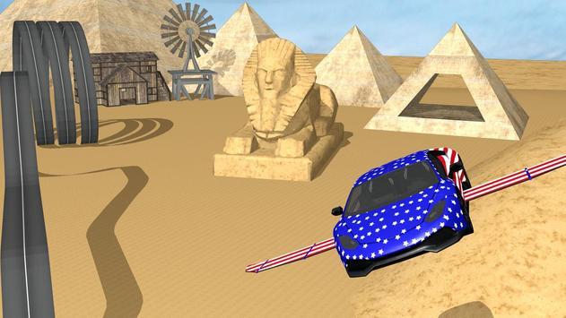 Flying Car Stunt n Demolition apk screenshot