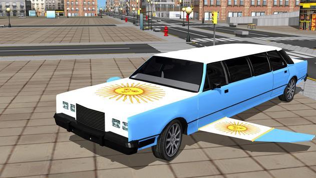 Flying Limo Car Driving Fever apk screenshot