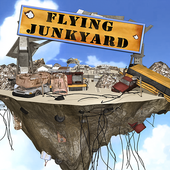 Flying Truck Junkyard Parking icon