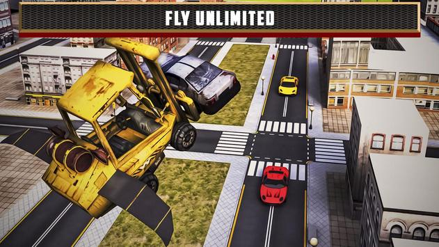Flying Truck Junkyard Parking screenshot 4
