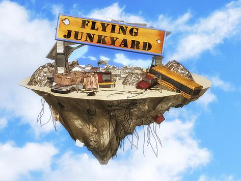 Flying Truck Junkyard Parking screenshot 5