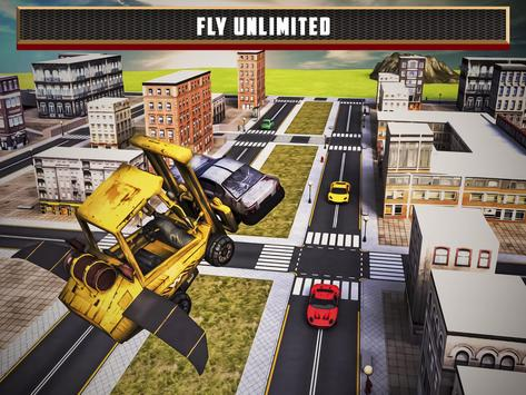 Flying Truck Junkyard Parking screenshot 9