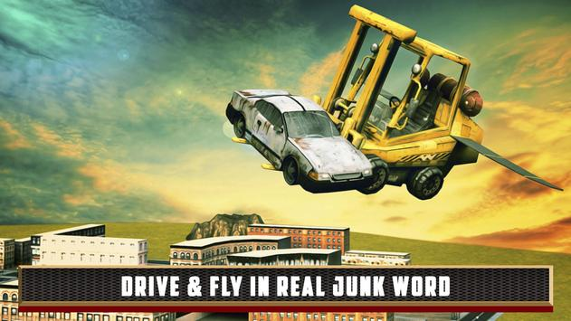 Flying Truck Junkyard Parking screenshot 13