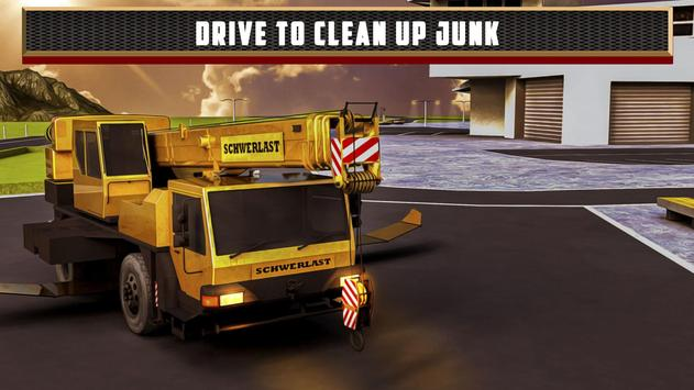 Flying Truck Junkyard Parking apk screenshot