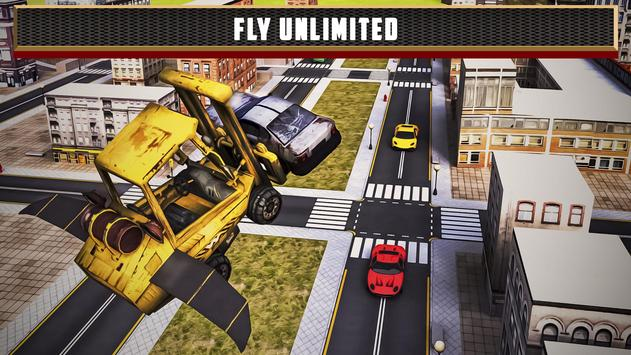 Flying Truck Junkyard Parking screenshot 14