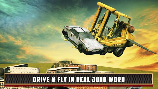 Flying Truck Junkyard Parking screenshot 3