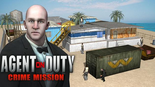 Agent on Duty Crime Mission poster