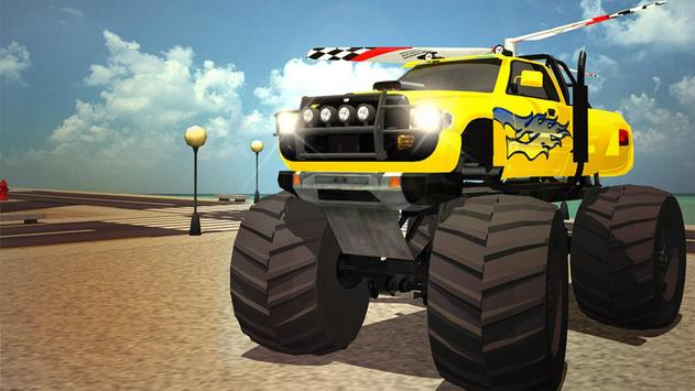 Flying Truck Pilot Driving 3D apk screenshot