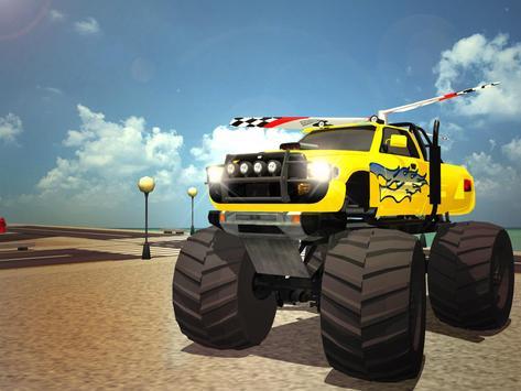 Flying Truck Pilot Driving 3D apk screenshot