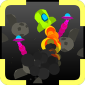 Space Survive-Asteroid escape icon