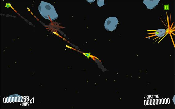Space Survive-Asteroid escape apk screenshot